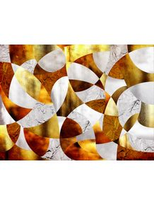 quadro-curves--silver-and-gold