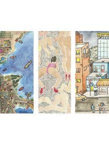 quadro-cidade-portuaria-em-doodle
