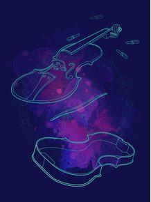 quadro-violino-em-linhas