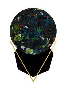 quadro-dark-floral-geometric