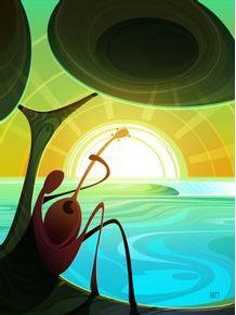 quadro-ocean-music