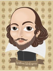 quadro-william-shakespeare