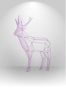 quadro-poligonal-01--cervo