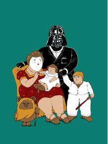 quadro-vader-family