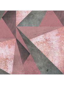 quadro-geometric-pink-grunge