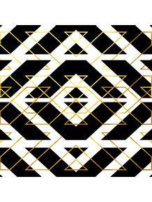 quadro-chevron-gold-nr