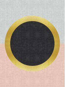 quadro-esfera-dourada-ii