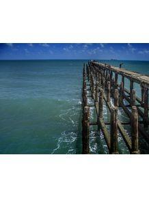 quadro-ponte-dos-ingleses-em-fortaleza--ce--pescadores