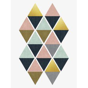 quadro-losangos-coloridos-ii