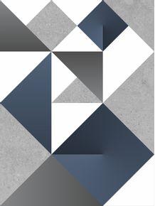 quadro-modular-origami-blue