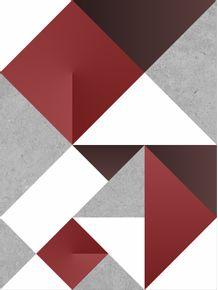 quadro-modular-origami-red