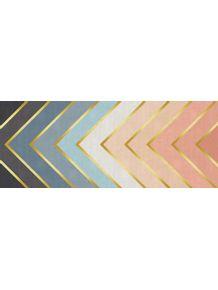 quadro-chevron-dourado-rosa-e-azul
