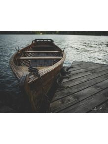 quadro-barco-em-bled-slovenia