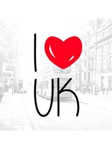 quadro-i-love-uk