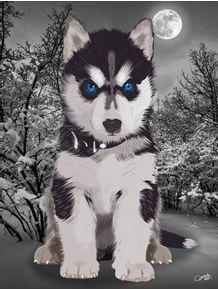quadro-husky-siberiano