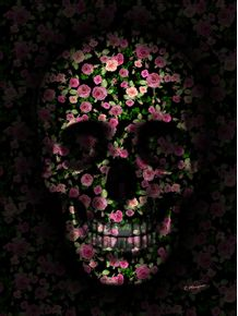 SKULL-FLOWERS-PINK-AND-GREEN