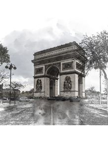 ARCO-DO-TRIUNFO--PARIS---FRANCA--SKETCH