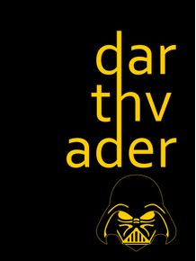DARTH-VADER-LETTERS-YELLOW