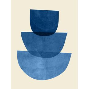 ABSTRACT SHAPES 37-BLUE